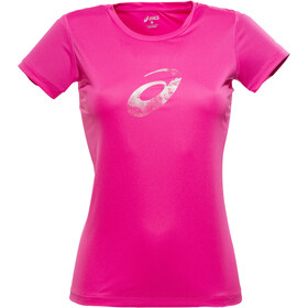 asics Graphic SS Top Women magenta